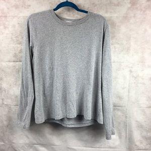 J. Crew gray long sleeve shirt